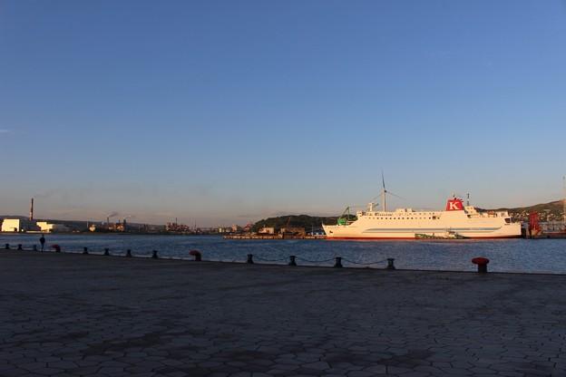 宮蘭航路就航、第一便(室蘭港にて) (10)