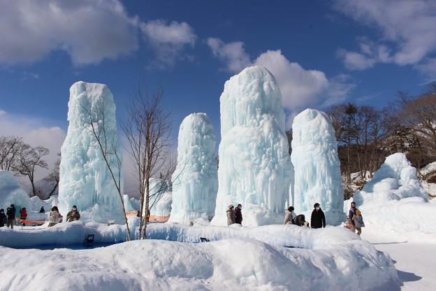 2021 千歳・支笏湖氷濤まつり2