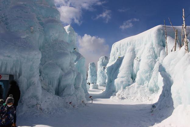2021 千歳・支笏湖氷濤まつり3
