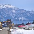 写真: 青い山脈