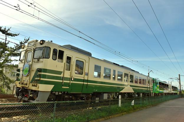Photos: 男鹿駅新駅舎完成記念号4
