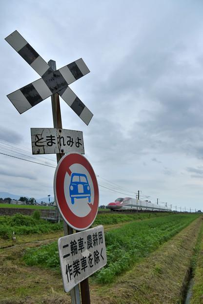 新幹線でも「とまれみよ」