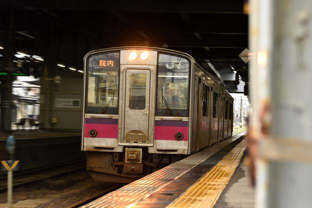 Photos: 冷たい雨の秋田駅4