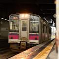 写真: 冷たい雨の秋田駅4