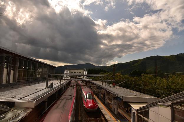 仙岩峠と秋の空