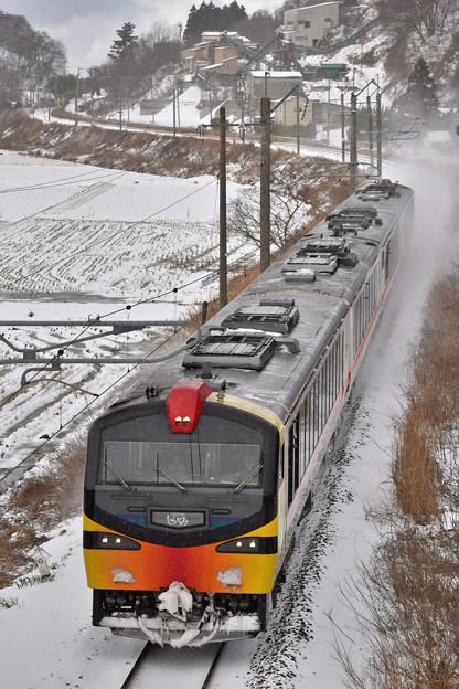 Photos: 雪のくまげら編成