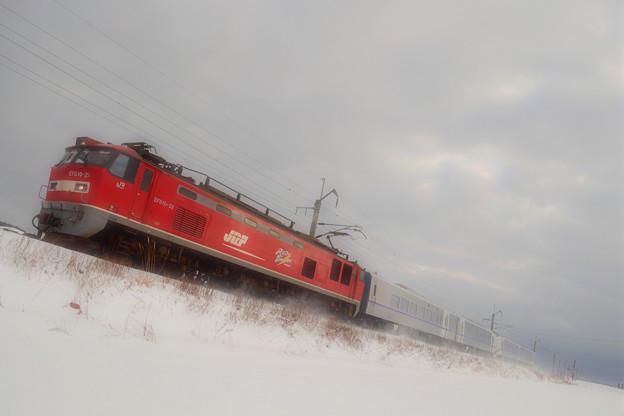 北海道へ~キハ261系甲種輸送