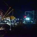 Photos: 橋桁架け替え間近