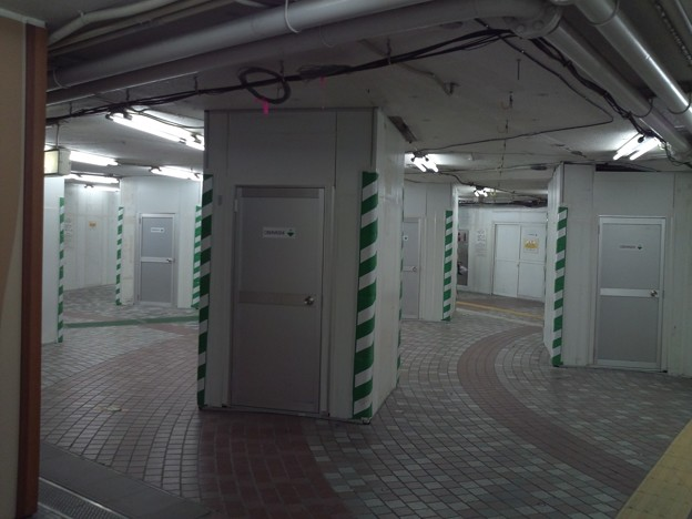 地下鉄銀座線上野駅の迷宮感。