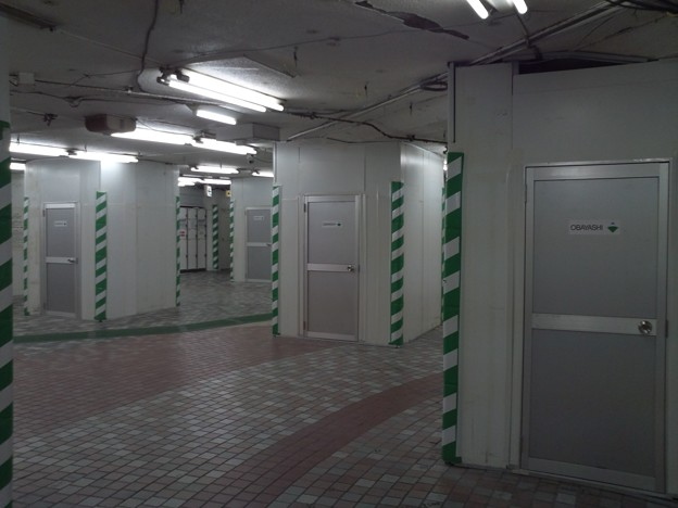 地下鉄上野駅の迷宮感3。