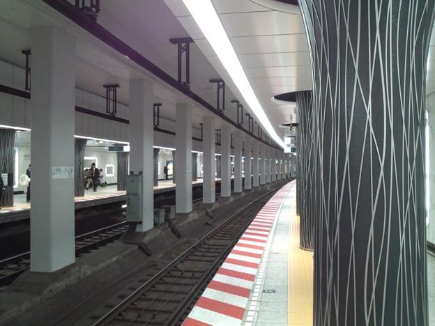 上野駅、工事終わってきれいになってる。
