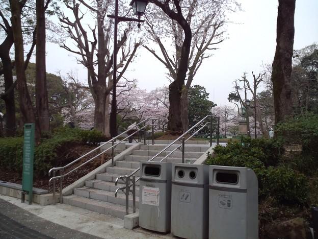 上野動物園前の遊園地跡。小池ーきれいにすればいいってもんじゃないだろ!