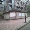 Photos: 京成博物館動物園前駅出入口跡2。この辺にも通風孔があるので地下で電車が通ると音が響く