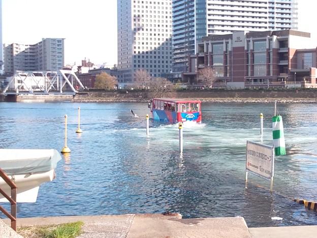 Photos: 水陸両用バス。