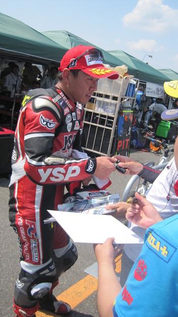 22 2013 1 中須賀克行 Katsuyuki Nakasuga ヤマハYSPレーシングチーム YZF-R1 全日本ロードレース JSB1000 IMG_1294