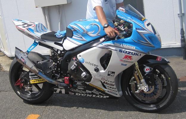 01 2013 71 加賀山 就臣 Team KAGAYAMA GSX-R1000 IMG_1275
