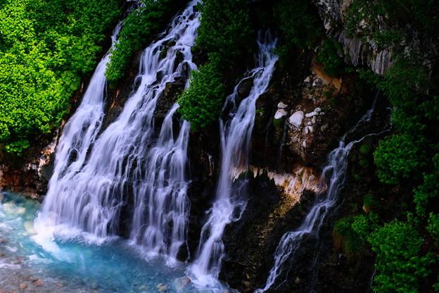 美瑛 白ひげの滝1