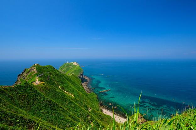 夏の神威岬 その1