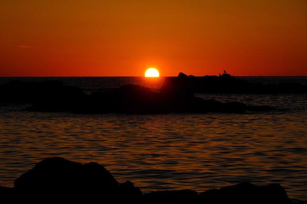 黄金岬の落日その2