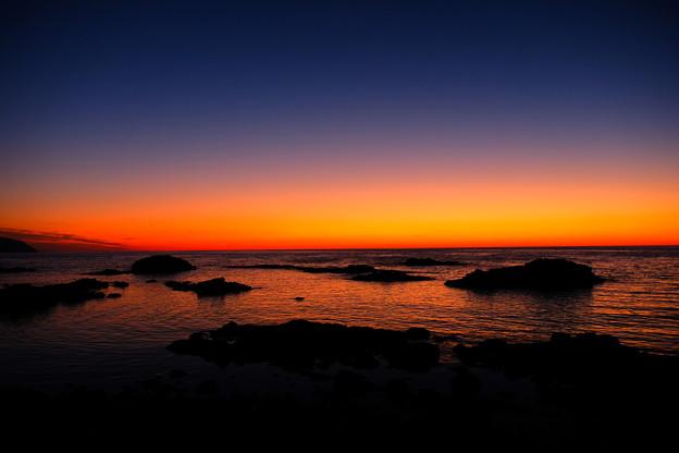 黄金岬の黄昏その3