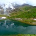 Photos: 姿見の池より旭岳山頂を望む