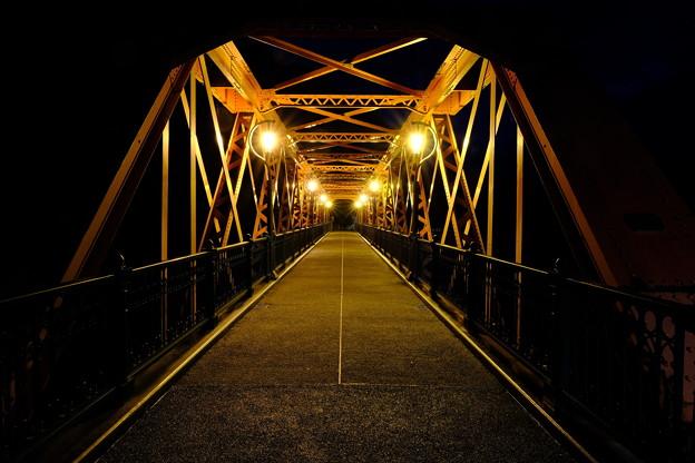 山線鉄橋の夜 その1