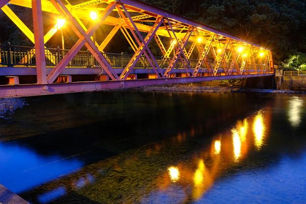 山線鉄橋の夜 その2