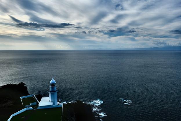 早朝の地球岬