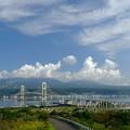 Photos: 祝津展望台より白鳥大橋を望む