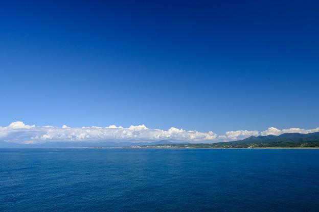 上ノ国郊外より日本海を望む