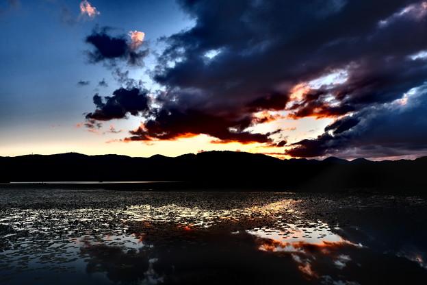 函館大沼公園の夕暮れ その2