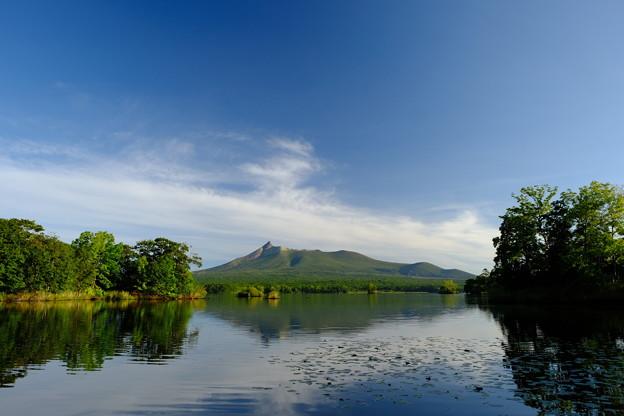 大沼に映える駒ヶ岳 その3