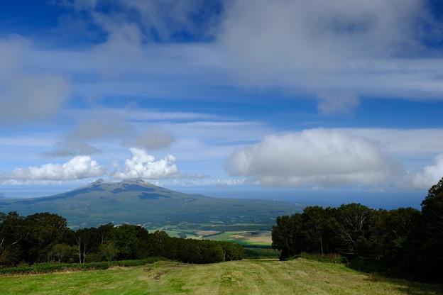 駒ヶ岳と内浦湾を望む