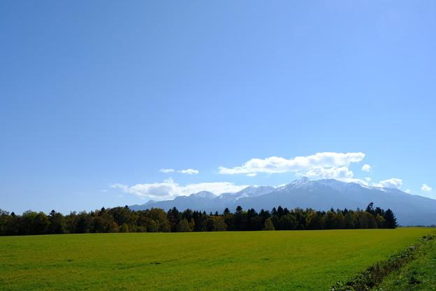 雪を頂く大雪山 その2