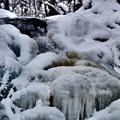 凍り付く滝【平和の滝にて】その1