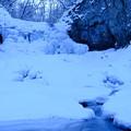 Photos: 凍り付く滝【平和の滝にて】その2