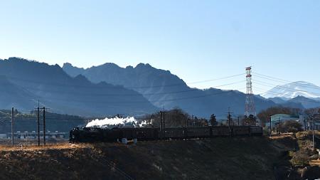 裏妙義・浅間山とC61 20SLレトロ碓氷
