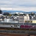 写真: EF510-509と東寺