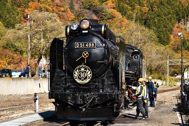 D51 498 30周年装飾