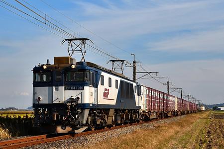 EF64 1010牽引鹿島貨物1094レ