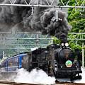 Photos: C61 20+12系客車SLぐんまみなかみ号(水上発車)