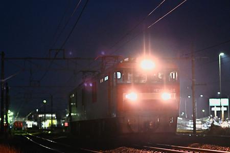 EH500-58安中駅構内機回し