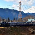 Photos: 浅間山とC61 20牽引12系客車SLぐんまよこかわ号