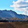 Photos: 妙義山とC61 20牽引12系客車SLぐんまよこかわ号