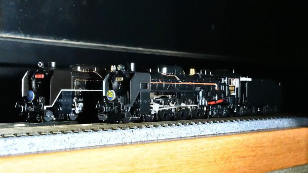KATO C62東海道型とTOMIX C61 20