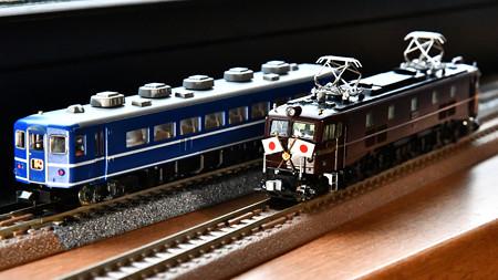 KATO EF58 61とスハフ14(初代)