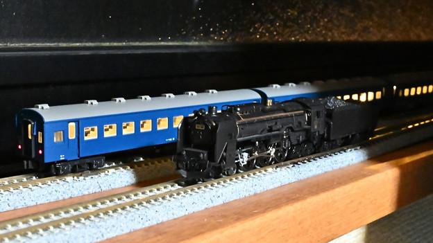 KATO C62 3と旧型客車