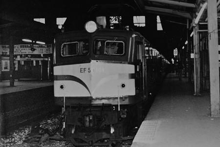 EF58 141牽引14系客車急行津軽