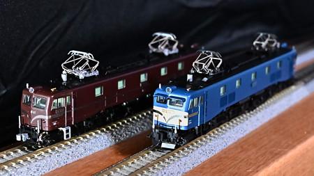KATO EF58 61とEF58上越形ブルー