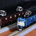 Photos: KATO EF58 61とEF58上越形ブルー
